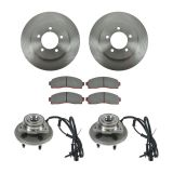Pontiac Brake & Wheel Hub Kits