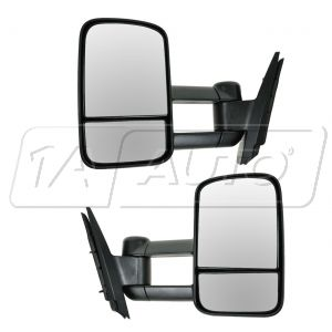2008 2013 Gmc Sierra 3500 Manual Towing Mirror Pair Chevy And Gmc